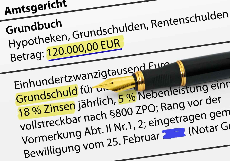Grundschuldzinsen---Kreditkündigung---Zwangsversteigerung---Insolvenz_Quatriga-21.de