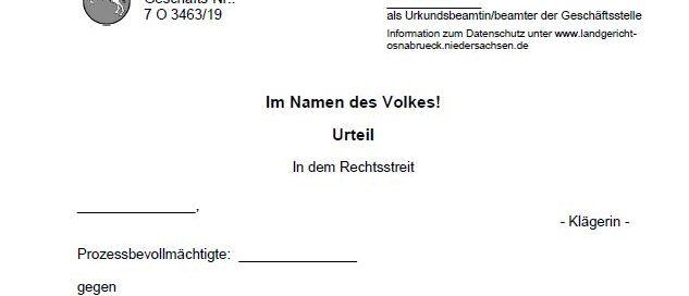 Landgericht Osnabrück